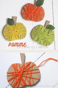 Autumn Crafts, Fall Crafts For Kids, Autumn Art, Diy For Kids, Fall Preschool, Preschool Activities, Preschool Classroom, Easy Crafts, Diy And Crafts