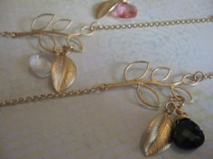 Items similar to Black Swarovski Crystal and Gold Leaf Bracelet on Etsy Summer Bracelets, Gold Leaf, Swarovski Crystals, Pearl Earrings, Personalized Items, Unique Jewelry, Handmade Gifts, Etsy, Vintage