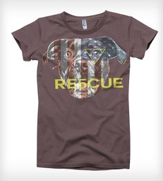 The American Rescue Women's T-Shirt | Women's Clothing | RE5CUE | Scoutmob Shoppe | Product Detail