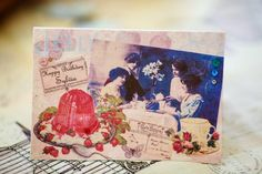 Sequin Stitches: Walk at Bolderwood and a Birthday Card