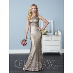 Christina Wu Bridesmaid Dress 22752