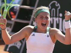 First Latvian, Maiden Slam Final For Jelena! .... 'Jelena Ostapenko wins on 20th birthday to become French Open's first unseeded finalist since 1983!' ... http://news.nationalpost.com/category/sports