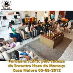 A ONG Aleitamento Materno Solidário oragnizou com sucesso o Mamaço por todo o Brasil na Semana Mundial do Aleitamento Materno.