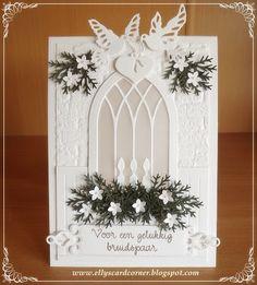 Elly's Card- Corner: Voor een gelukkig bruidspaar