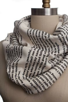 Les Miserables Book Scarf | Storiarts