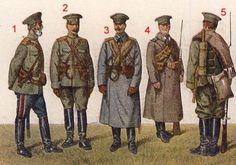 Russian World War One Uniforms