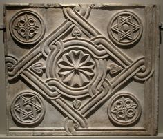 Marble Decorative Panels, Byzantine, 10th-11th centuries, Constantinople