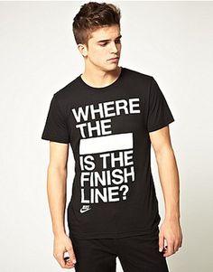 ASOS Fashion Finder | Nike Where The F T-Shirt