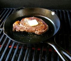 Top Steak with Butter
