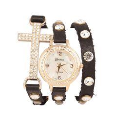 Wrap Watch Watches, Pretty, Accessories, Fashion, Moda, Wristwatches, Fashion Styles, Clocks, Fashion Illustrations