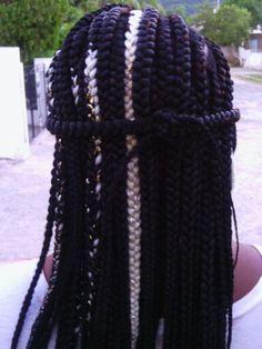 Jamaican hair braiding skills on display!