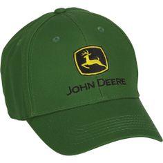 John Deere Logo | John Deere Logo Baseball Cap — Green | Caps| Northern Tool ...