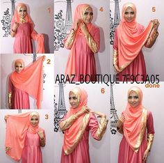 Simple yet so modest..  #hijaptutorial #stepbystep #shawl