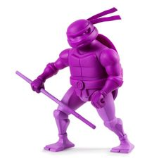 TMNT 8 inch : Donatello - They are the world�s most fearsome fighting team! Kidrobot and TMNT team up again to present a totally tubular 8� Teenage Mutant Ninja Turtle Medium Figure Series of epic turtle power proportions! Each Donatello figure comes in a faded colorway true to each turtle�s color and sporting their signature weapons