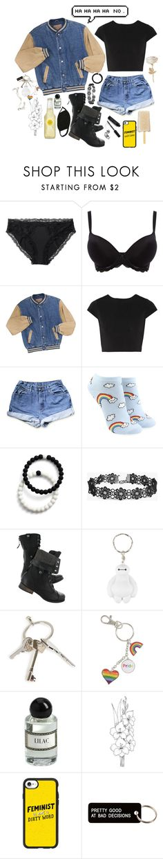"""""""Yvonne Xavier"""" by kara-sevda ❤ liked on Polyvore featuring Monki, Wacoal, Alice + Olivia, Forever 21, Lokai, Boohoo, Hot Topic, Givenchy, Casetify and Various Projects"""