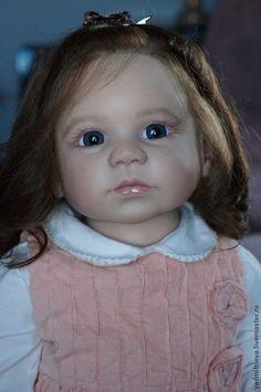 Купить Габриэлла - бежевый, габриэлла, регины свиалковски, молд габриэлла, реборн габриэлла, кукла реборн