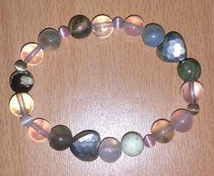 #Schmuck, #Armband, #Perlen, #Edelsteine, #Bergkristall, #Rosenquarz, #Zitronenchrysopras, #Jade, #Landschaftsjaspis, #Herzen, #silber jewellery, joyas, bijoux, ювелирные изделия, biżuteria, gioielli, juwelen, koruja, smykker, 珠寶,bracelet, pulsera, браслет, bransoletka, bracciale, rannekoru, armbånd, 手鐲,pearls, perlas, perles, жемчуг, perły, perle, parels, helmet, perler, 珍珠,