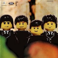 The Beatles Legos
