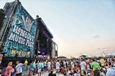 The Hangout Music Festival, annual event in Gulf Shores, Alabama.  This year attracting over 35,000 people to the event.  Come enjoy the good life on the Gulf of Mexico's white sandy beaches