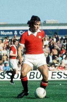 Lou Macari Manchester United 1973.....