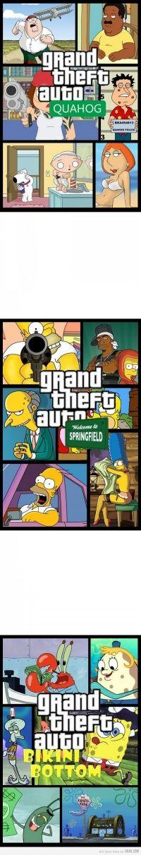 Family Guy: GTA Quahog