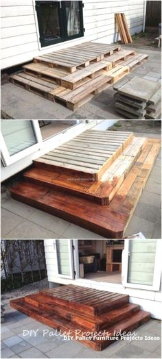 Cheap DIY Pallet Ideas For Tiny House 31 Wood Pallet Projects apartmentpatiodecorating Cheap DIY House ideas Pallet Tiny Budget Patio, Patio Diy, Diy On A Budget, Backyard Patio, Cozy Patio, Rustic Patio, Diy Pallet Furniture, Diy Pallet Projects, Furniture Projects