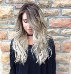 Instagram- froufrou412 or alail6 Balayage blonde, color melted root