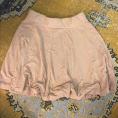 Blush color Brandy Melville skirt small Bought from Brandy Melville. Blush pink color. Size small Brandy Melville Skirts Circle & Skater