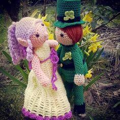 Free crochet leprechaun pattern x ♥