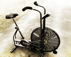 A comprehensive list of Airdyne workouts using the Schwinn Airdyne ergometer fan bike. This is a list of workouts involving the air bike called the Airdyne.