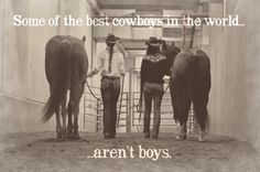 Some of the best cowboys in the world... aren't boys. #cavenders