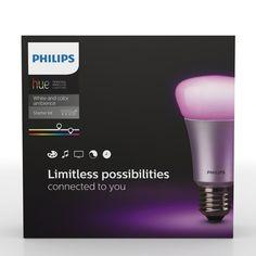 Philips Hue White and Color LED E27 10 W - 3er Starterkit...