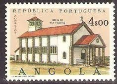 Angola. 1963. 10$00. Lubanga Mission.   Angola em Selos ...