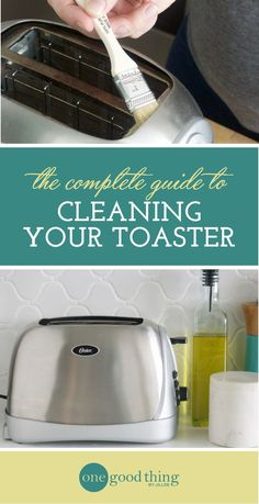 How To Clean Your Toaster So It Looks Brand New! - One Good Thing by Jillee