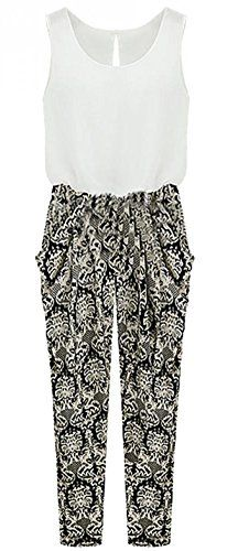 Special Offer: $15.57 amazon.com Pattern Type :FloralColor :BlackSleeve Length :SleevelessMaterial :PolyesterNeckline :Round NeckStyle :CasualBust:92cm,Hip:98cmFashion Trendy Design Skirts for Girls and Women. Comfortable to wear, Suitable for casual...