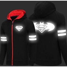 Batman - Spring Luminous Batman Hoodies Coat