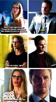 Arrow - Oliver & Felicity #Olicity