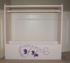 Dress-up Station -- first finished project!   Do It Yourself Home Projects from Ana White