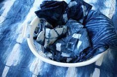 great work! #indigo #blue