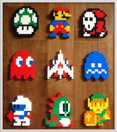 8-Bit Lego Heroes by jamesthe4
