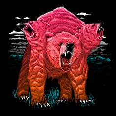 """""""Cerbearus"""": Available at Design by Humans"""