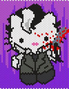 Sweeney Todd Hello Kitty Bead Pattern