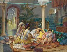 Anonimo, vita nell'harem