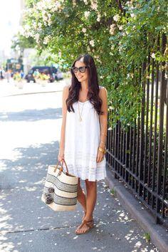 White Lace Sundress.
