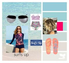 """Surfs Up"" by emma-victoria-e on Polyvore"