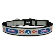 Large GameWear Milwaukee Brewers Retro Frozen Rope Baseball Leather Leash