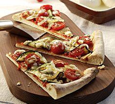 Mediterrane Pizzapunten - klik voor het hele recept op de het beeld!