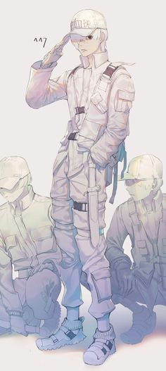 Cells at work Boy Character, Character Design, Manga Anime, Anime Art, Blood Anime, 07 Ghost, Popular Anime, Hero Wallpaper, Blood Cells