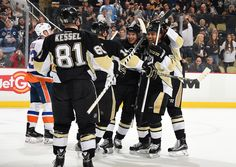 March 15, 2016 vs. New York Islanders: Chris Kunitz scored the lone Pittsburgh goal in regulation and Kris Letang scored the lone shootout goal for either team. Final score, 2-1 Penguins (SO).