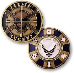 Feeling Lucky - Air Force Challenge Coin, http://www.amazon.com/dp/B0032JCLAS/ref=cm_sw_r_pi_awdm_LhFsub0XZMWQ3